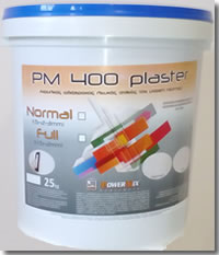 PM 400 PLASTER ACRYLIC