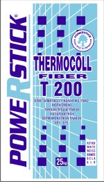 FIBRE-REINFORCED ADHESIVE THERMOCOLL FIBER T200